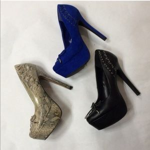 3 pairs of Jessica Simpson Heels